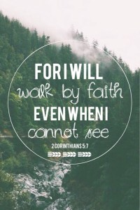 for i will walk