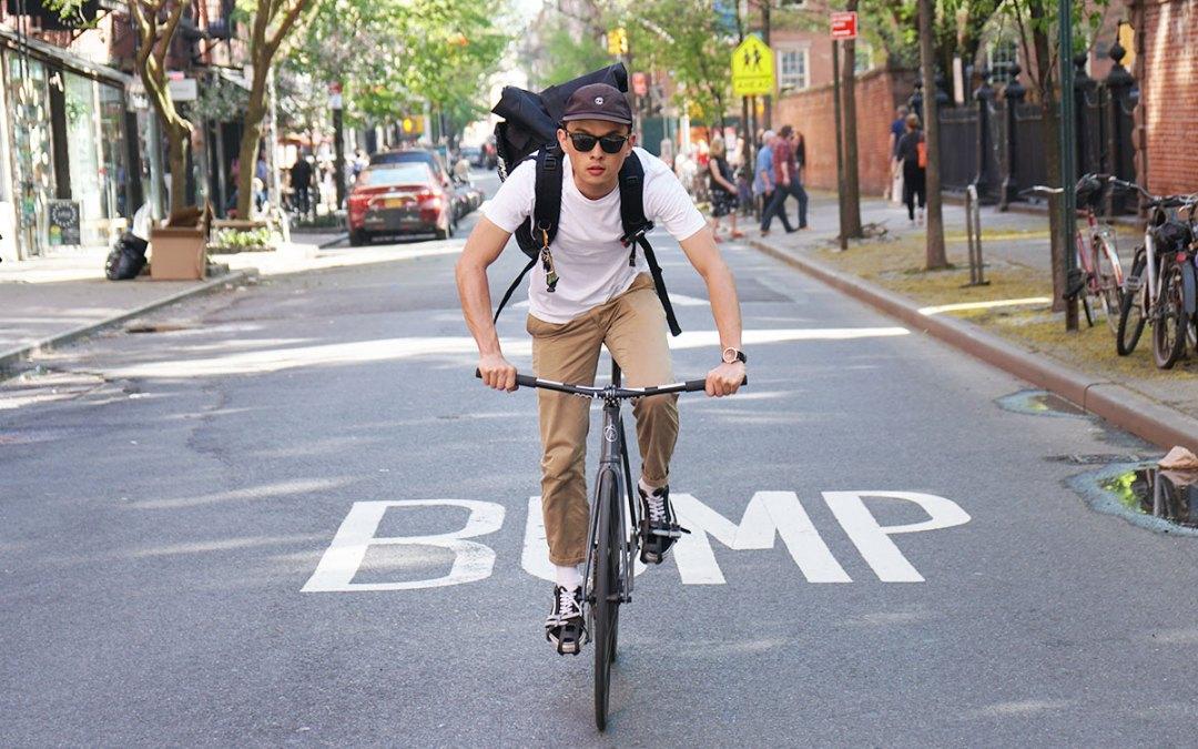 騎著單速車的搖滾暖男 – 瑋恩