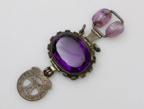 El Zafiro Púrpura de Delhi