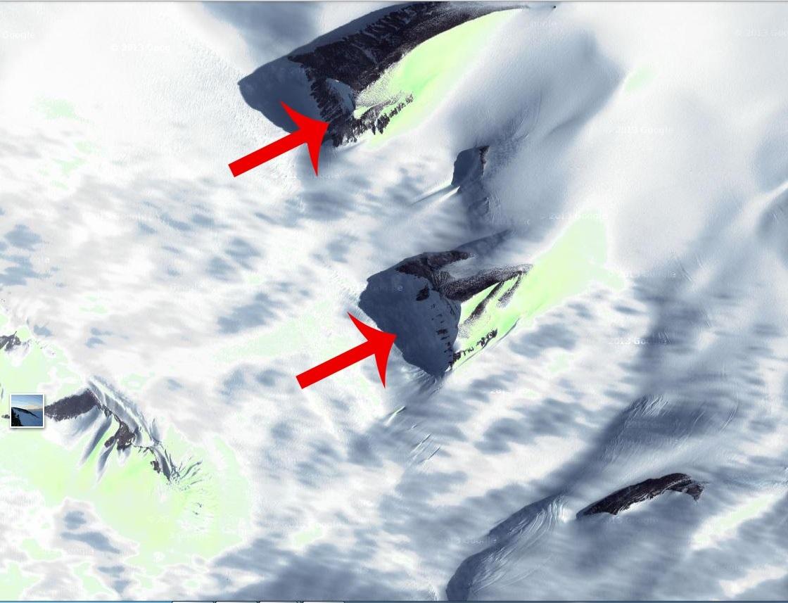 Resultado de imagem para imagens sobre as pirâmides na antártida