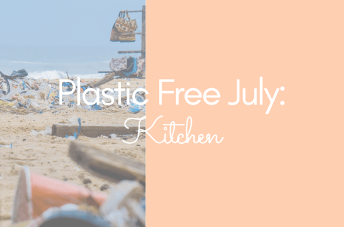Plastic Free July Kitchen