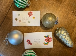 Letters to Santa for activities to do at home with kids