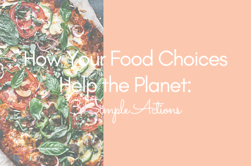 How your food choices help the planet