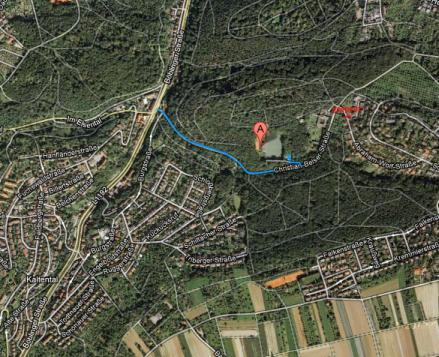 Anfahrt VfL Kaltental