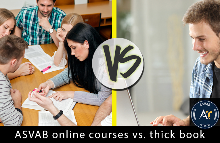 How ASVAB Online Courses Give You an Edge over Thick Books | ASVAB Test New York