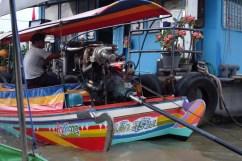 Motores de carro em tudo quanto é barco!