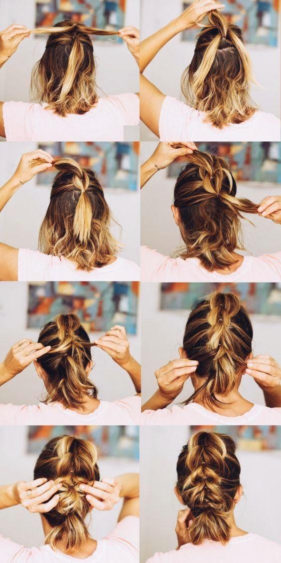 hairstyle for medium hair