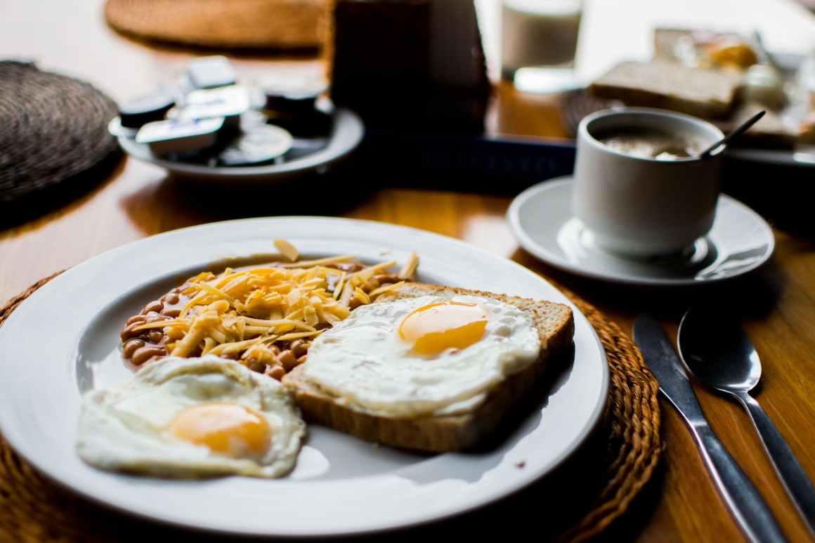food coffee breakfast