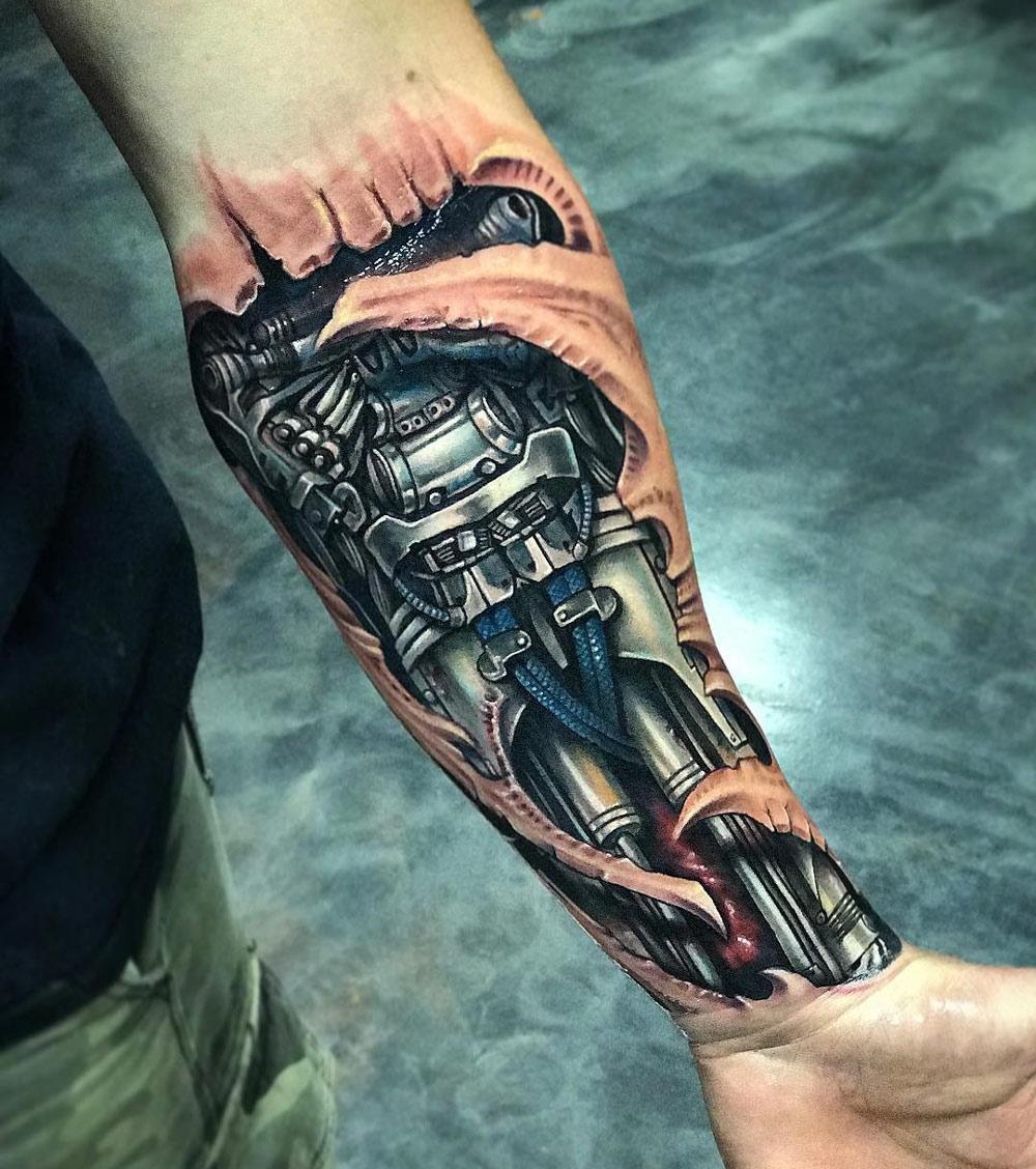 Biomechanical-forearm