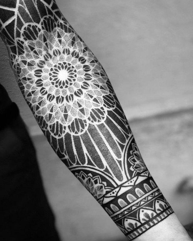 Geometric-Forearm-Tattoo-Designs-For-Guys