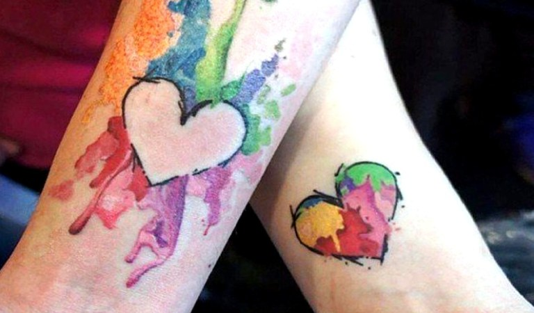 10 Super Cool Matching Tattoos For Couples In Love