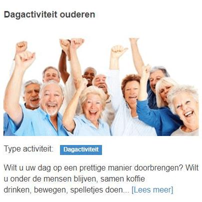 Dagactiviteiten ouderen