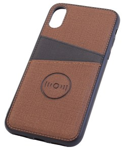 iPhone X Brown Cover Case