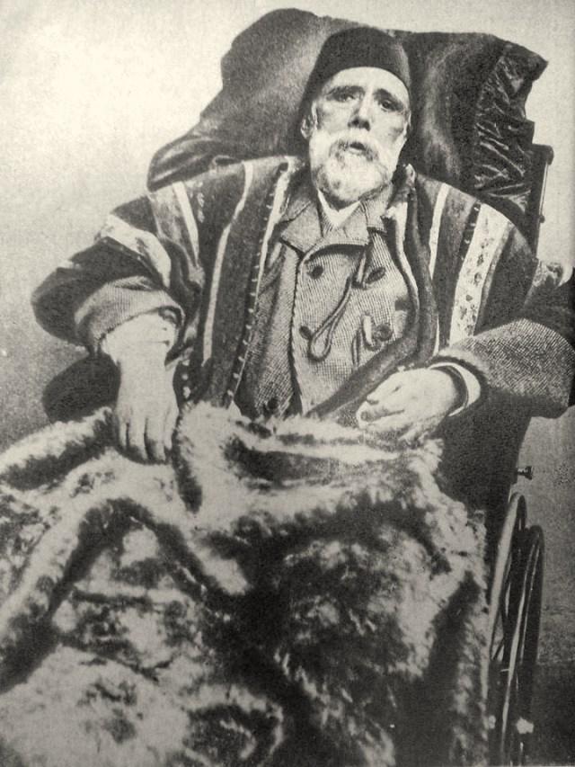 الخديوي إسماعيل في اواخر ايامه