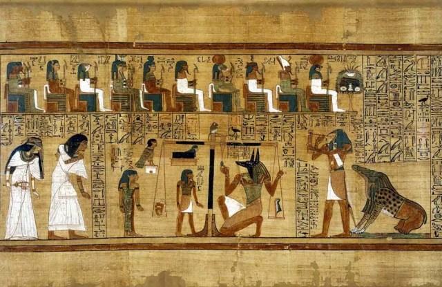 بردية محكمة الموتى للكاتب المصري حونفر