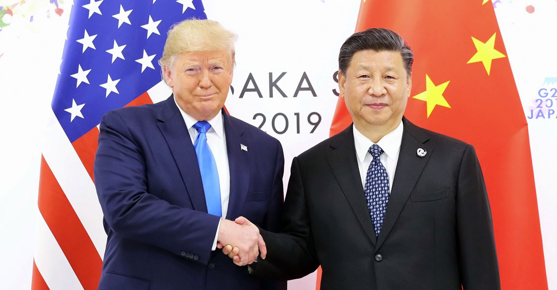 ترامب وشي جين بينغ
