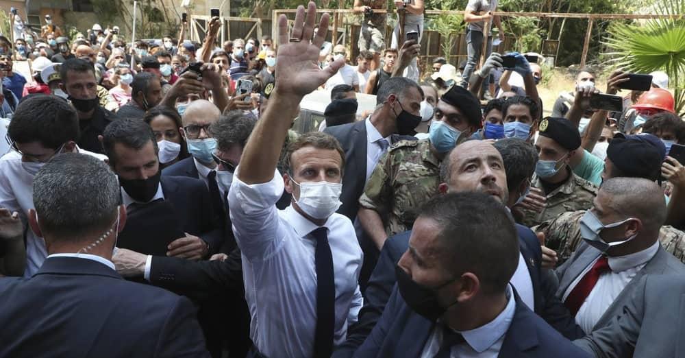 زيارة ماكرون للبنان
