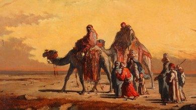 لوحة الصحراء لفرانثيسكو لامير إي بيرينغير