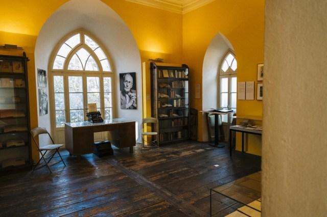 منزل هيرمان هسه في سويسرا الذي تحول متحف لاحقًا