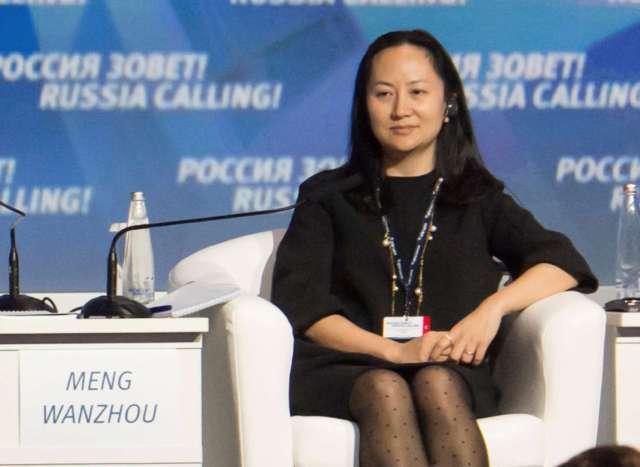 منغ وانزو، المديرة المالية لشركة هواوي للاتصالات والإلكترونيات