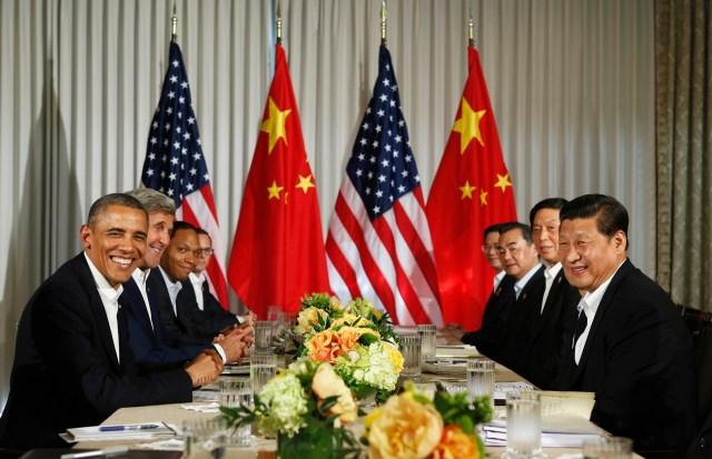 قمة صنيلاندزبين أوباما وتشي جين بينغ