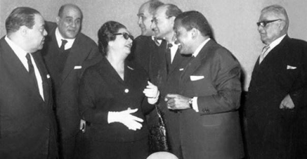 هيكل وأم كلثوم وعلي أمين وكامل الشناوي ومحمد عبد الوهاب