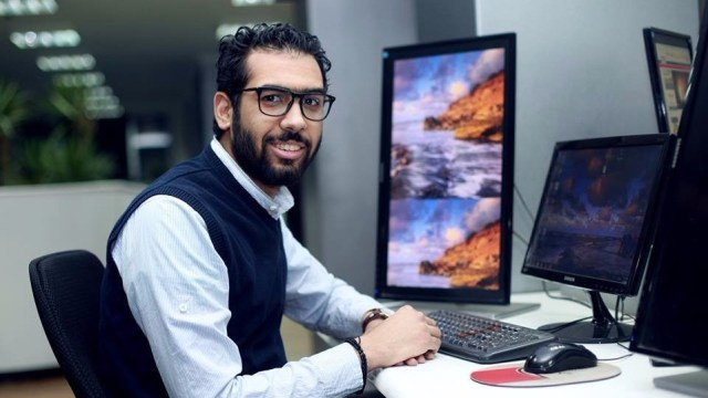 الروائي الشاب هشام شعبان
