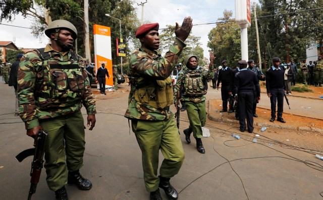 قوات الأمن الكينية