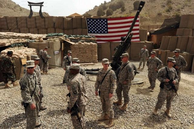 الجيش الأمريكي في أفغانستان