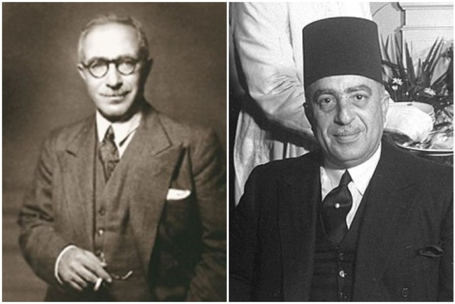 حسين سري ومحمد حسين هيكل