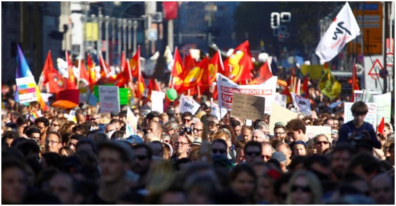 مظاهرات في برلين ضد قيود كورونا