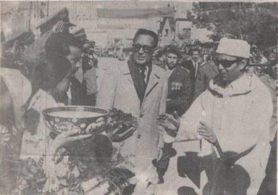 محمد أوفقير والملك الحسن الثاني