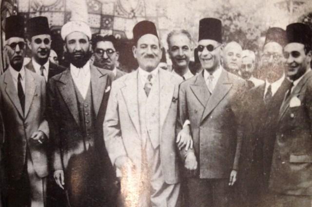 طه حسين ومصطفى النحاس