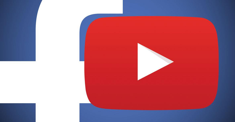 فيسبوك ويوتيوب