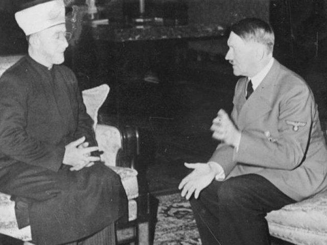امين الحسيني وهتلر