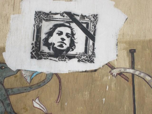 جرافيتي يناير
