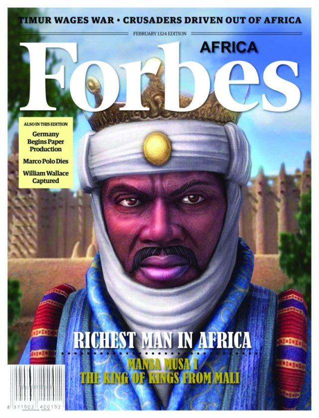 غلاف مجله فوربس