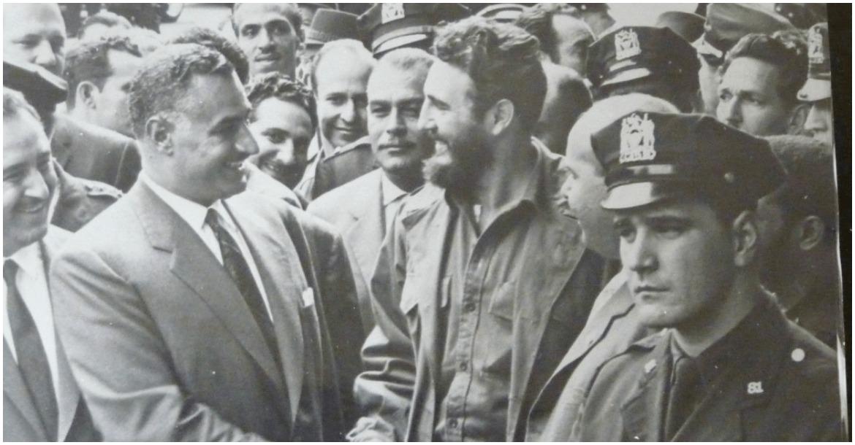 ناصر وكاسترو في هارلم