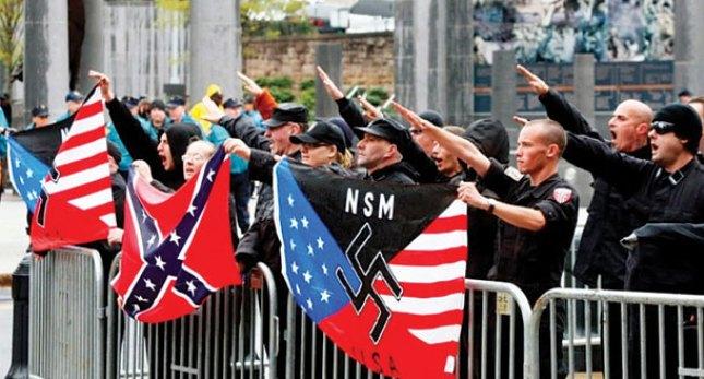 مسيرات النازيين الجدد في أمريكا