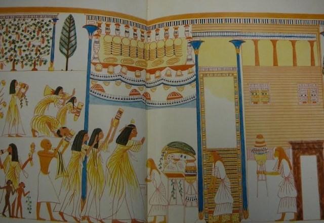لوحة مصرية قديمة