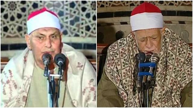 الشيخ محمد عصفور والشيخ أحمد عامر