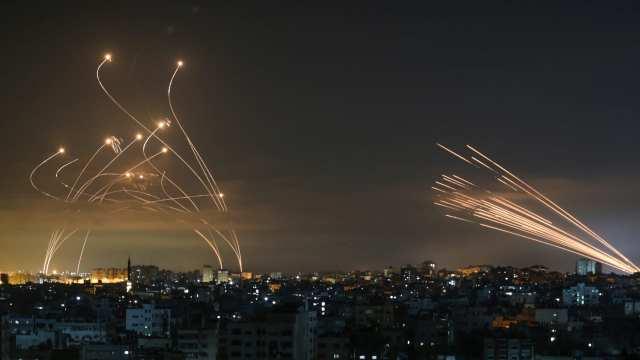 صواريخ غزة