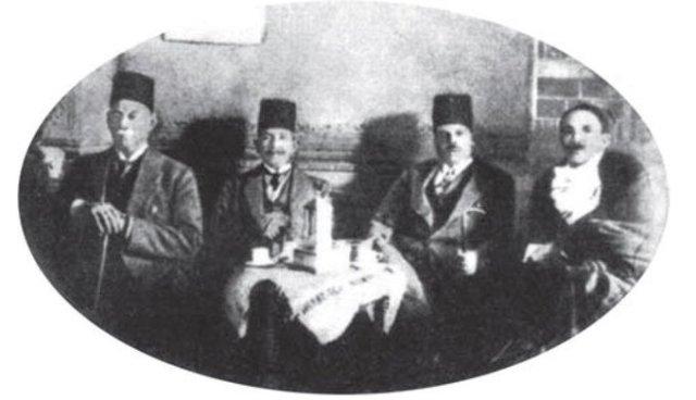 زغلول وصدقي وحمد ومحمد محمود باشا