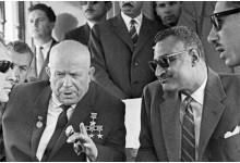 عبد الناصر وخروشوف