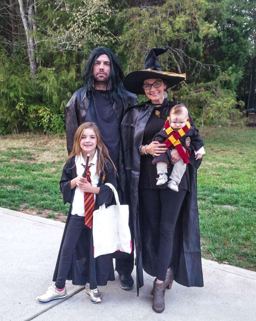 Harry Potter Family of 5 Halloween Costume