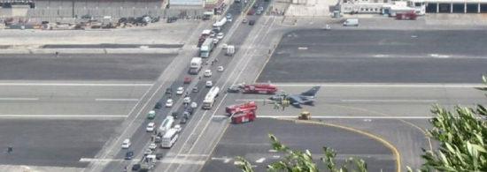Gibraltar airport runway Crazy Airports