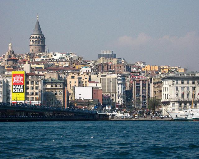 Galata Tower and Galata Bridge, Istanbul