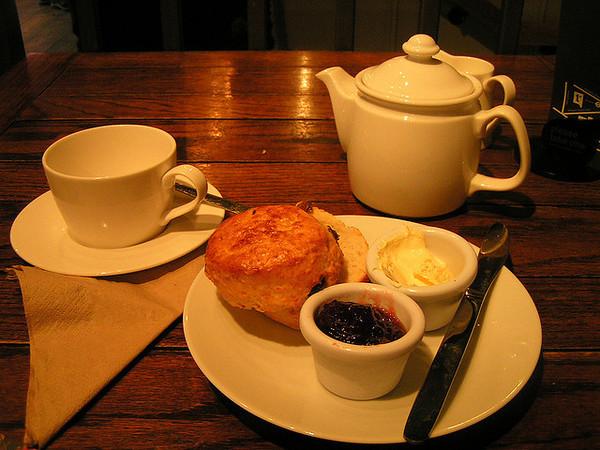 English Tea Café Culture