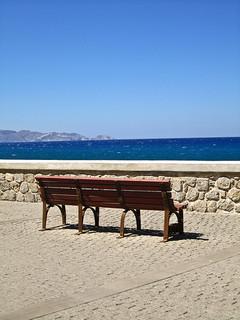 Mediterranean from Heraklion Crete, Greece