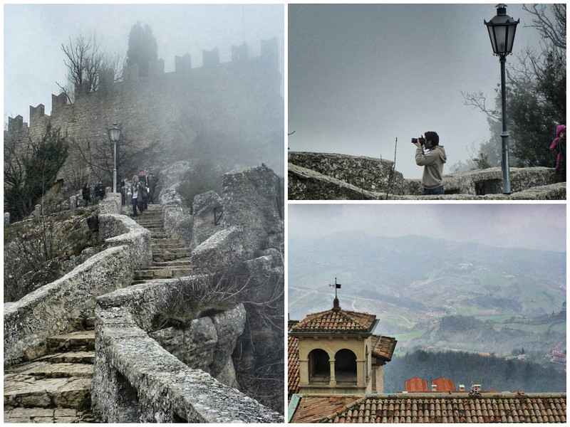 Lost In A Misty San Marino Micro State